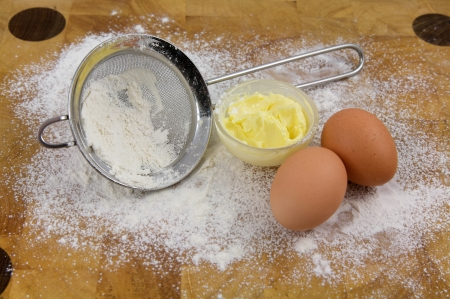 Baking ingredient in the kitchen, Home Related Stock Photo