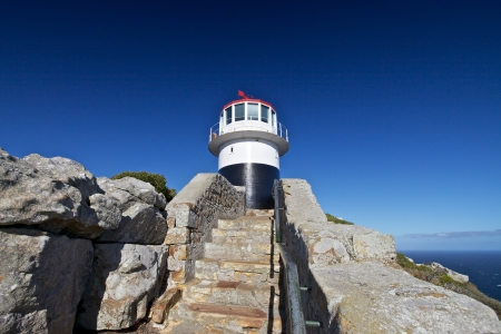 cape of good hope: Lighthouse on Cape of Good Hope South Africa