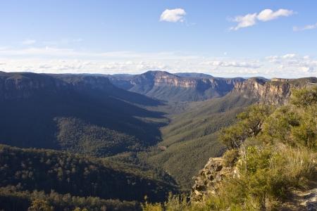 deep south: Blue Mountains, NSW, Sydney, Australia Stock Photo
