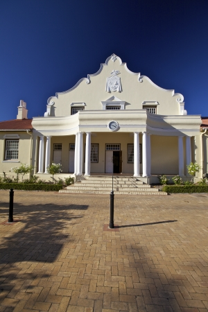 Cape dutch architectural in Cape Town Stock Photo - 16991252