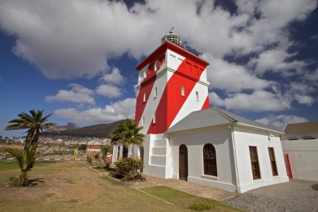 cape of good hope: Green Point Lighthouse is the oldest lighthouse on the South African Coast, Cape Town