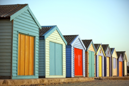 Bright beschilderde huizen