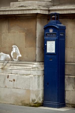London, post box photo