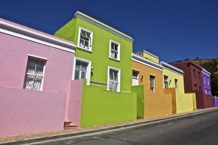 Bo-Kaap in Kaapstad, Zuid-Afica