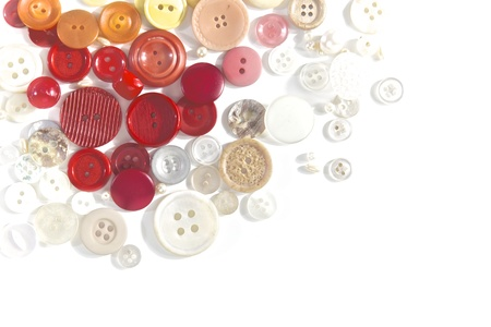 Buttons - isolated on a white background
