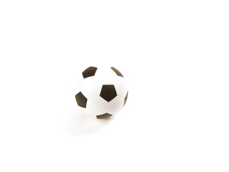Soccer ball, isolated on white background 版權商用圖片