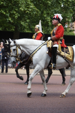 tuba: Royal guards, Trooping of the Colour, London, 2006