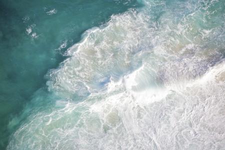 Beach waves, background