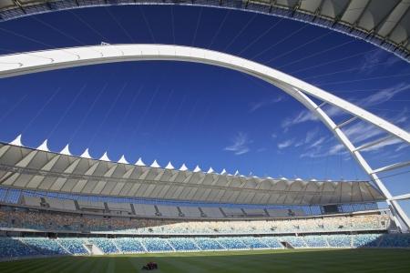 mabhida: Football stadium in Durban, South Africa. In the city of Durban called the Moses Mabhida Stadium Editorial