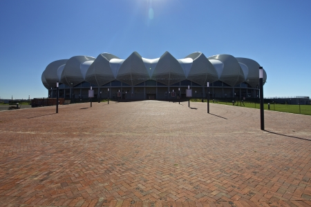 nelson: Soccer Stadium in Port Elizabeth called Nelson Mandela Bay in Eastern Cape Province, South Africa Editorial