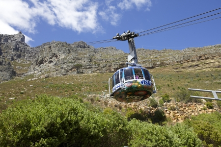 Cape Town, cable car from table mountain