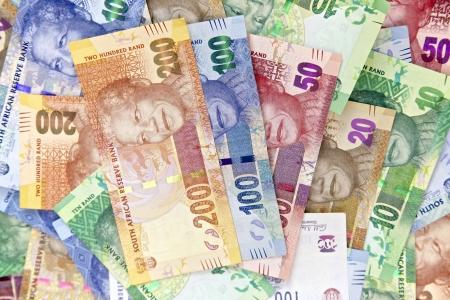남아프리카 공화국 넬슨 만델라 새로운 수표 에디토리얼