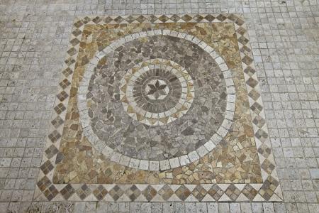 tile flooring: Decorative mosaic, design