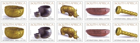 South Africa Stamps Collection photo