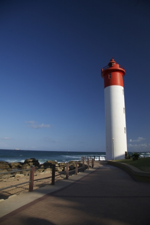kwazulu natal: Lighthouse in Natal, Durban, South Africa