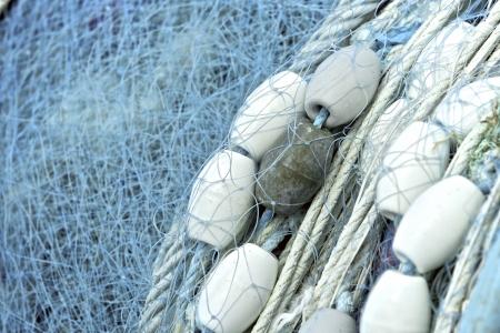 漁網、ビューをクローズ アップ