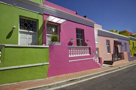 Bo Kaap District, Kaapstad, Zuid-Afrika