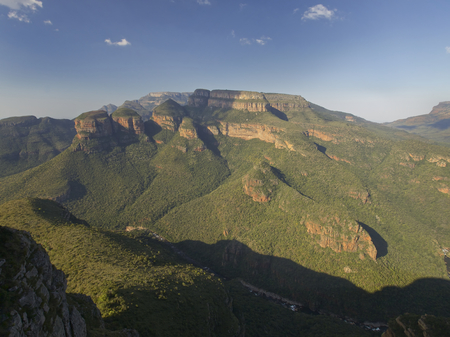 Blyde River Canyon and the three rondovels in Mpummalanga, South Africa photo