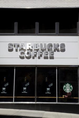 Starbucks Coffee Store, New York, United States America