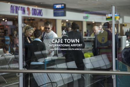 Inside Cape Town international airport, Cape Town, Western Cape, South Africa