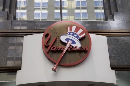 yankees: Yankee store in New York City, USA Editorial