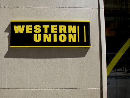 credit union: Western Union, New York City, USA