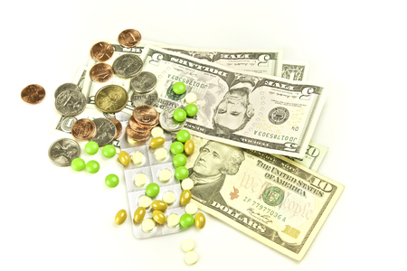 medical bills: Health care, pills and financially medical expensive