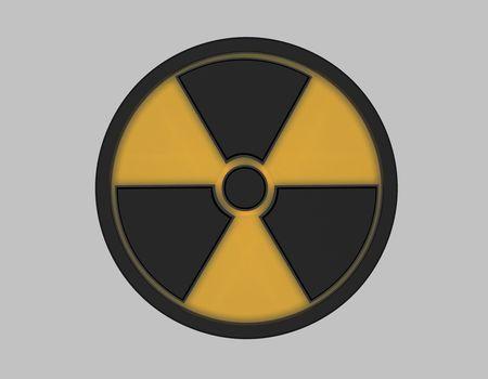 Radiation Symbol Stock Photo - 7139885
