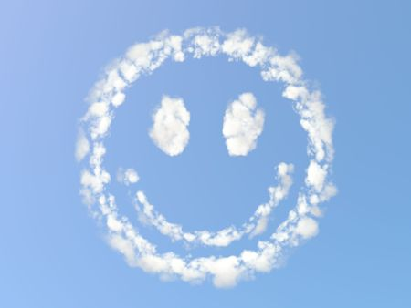 Cloudy Smile Stock Photo - 7139887