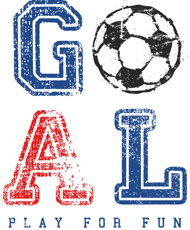 athletics: football, soccer, sports, athletics, vectors Illustration