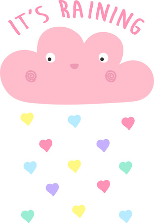 hapy: cute cartoon is cloudvect Illustration