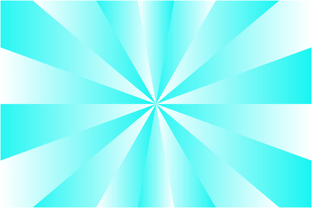 Abstract sunburst pattern, soft blue and white ray colors. Vector illustration, EPS10. Geometric pattern. Use as background, backdrop, image montage, mock up template, etc.