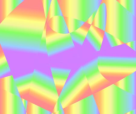 Bunter Regenbogenbeschaffenheitshintergrund der Gradientenfarben, Vektorillustration, EPS10. Verwendung als Hintergrund, Hintergrund, Bildmontage usw. Es gibt sechs Hauptfarben - Rot, Orange, Gelb, Grün, Blau (Indigo) und Violett (Lila oder Magenta).