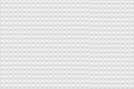 Abstract bumpy surface texture of gradient white and gray round dots. Vector illustration, EPS10. Can be used as background, backdrop, image montage in graphic design, book cover, flyer, brochure, etc