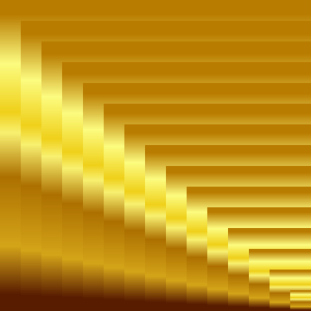 Abstract gradient gold texture background. Vector illustration, EPS10. Use as background, backdrop, wallpaper in graphic design, or image montage for luxury or valuable products display (e.g. jewelry)