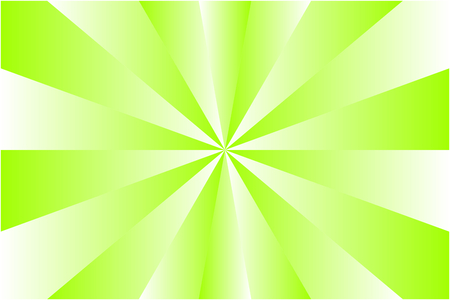 Abstract sunburst pattern, gradient white and light green colored rays. Vector illustration, EPS10. Geometric pattern. Use as background, backdrop, image montage, mock up template, etc.