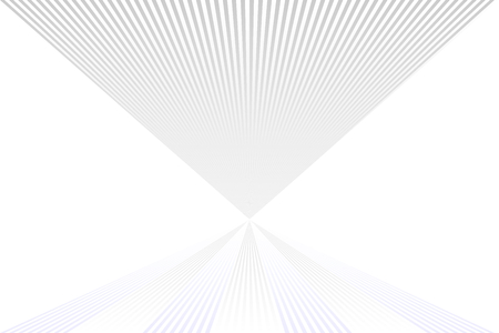 Abstract geometric pattern of white and gray colored stripes with negative space. Vector illustration, EPS10. Use as background, backdrop, image montage, mock up template, etc. Ilustração