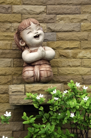 uneven: Stone dolls, home decor, baby dolls, doll hands, ground, surface, Texarkana, Rogers, brick, wall, wall, stone, strength, illustration, backdrop, background, rough, uneven,  Stock Photo