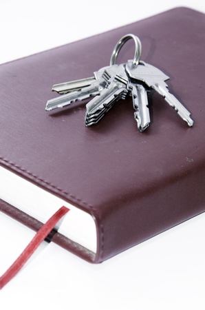 Keys that are on the books. Stock Photo - 20352492