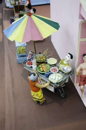 Toy model that mimics the culture of Thailand. photo