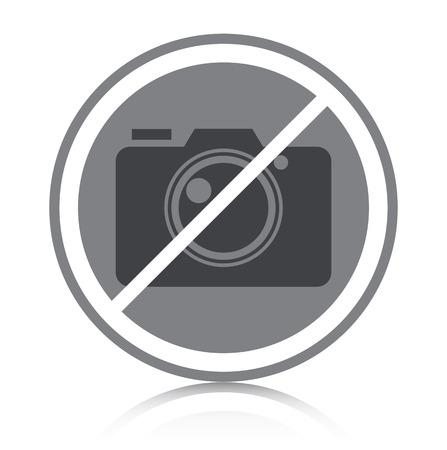 Prohibited symbol with white background Zdjęcie Seryjne - 23112549