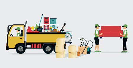 movers: Workers transport services and professional services delivery.