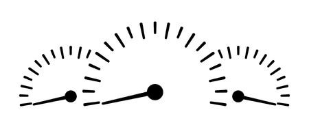 Speedometer icon - Stock Vector. Illustration