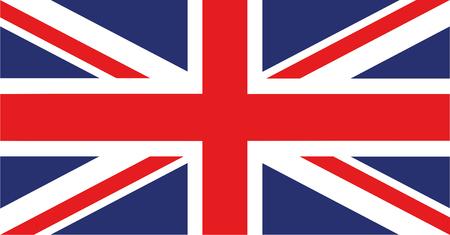 Great Britain, United Kingdom Flag stock vector. Иллюстрация