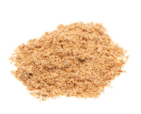 spice isolated: Powdered spice isolated on white background Stock Photo