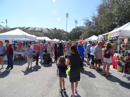 we go to the flea market as a family saturday
