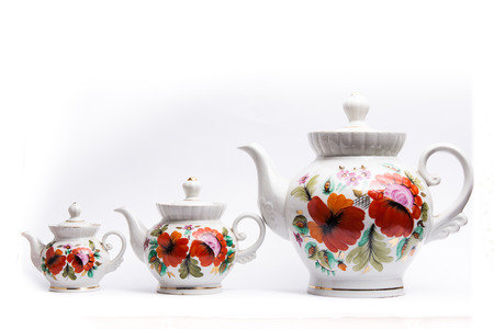 kettles: Tea kettles for tea Stock Photo