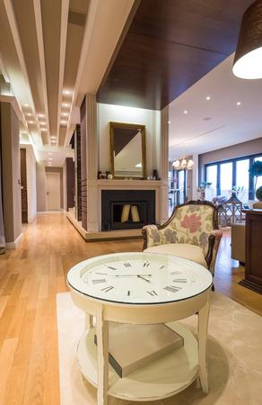 luxury apartment: Luxury apartment interior Stock Photo