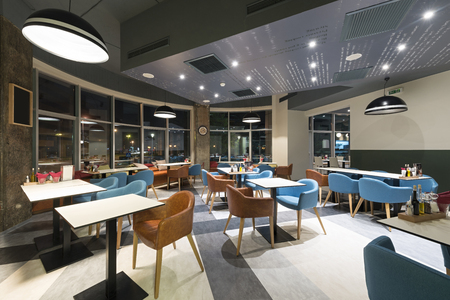 renovated: Modern restaurant