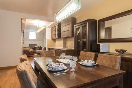 Dining room interior Reklamní fotografie